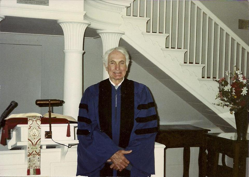 Rev. Eusden spent 32 years at Williams College, but took his ministry throughout New England and abroad.