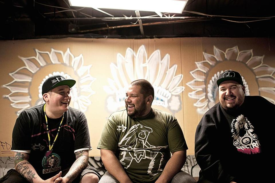 DJ NDN, DJ Shub, and DJ Bear Witness mix Native American and non-Native sounds.