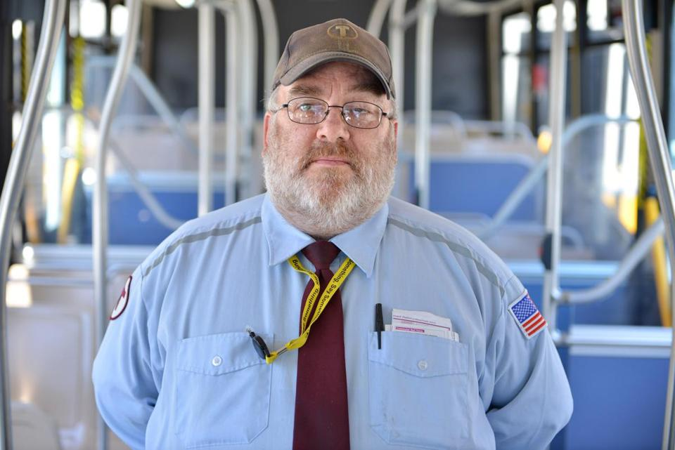MBTA driver Kevin White said there was no temptation to take any of the $1,100 left on his bus.
