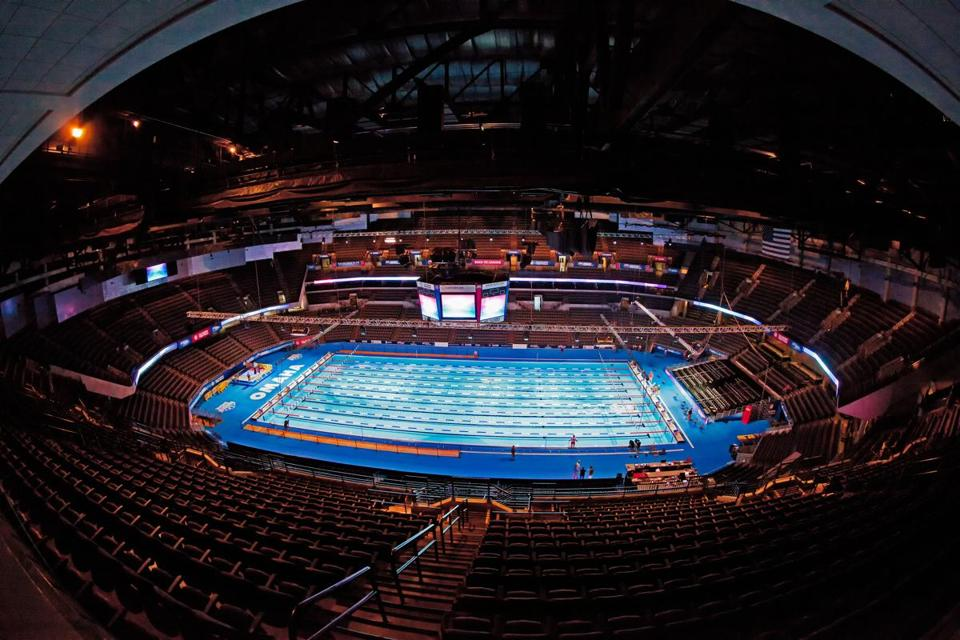 The pool used for the 2012 Olympic Trials came up for sale, and Charles River Aquatics couldn't pass it up.