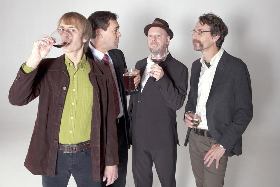 Mudhoney is (from left) Mark Arm, Guy Maddison, Dan Peters, and Steve Turner.