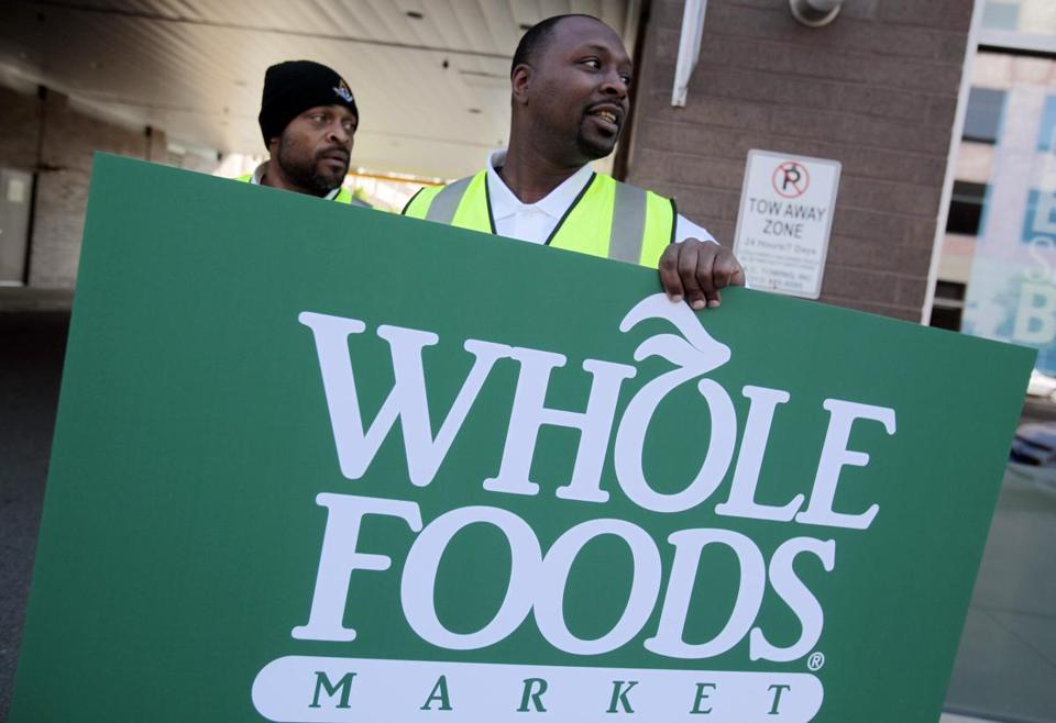 Shares of Whole Foods have advanced 12 percent this year.
