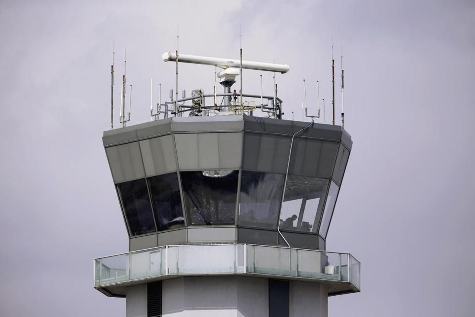 The control tower at Chicago's Midway International Airport was among those scheduled to close at night.