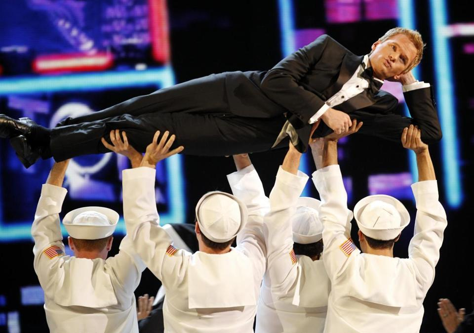 Neil Patrick Harris performed during the 65th annual Tony Awards in New York.