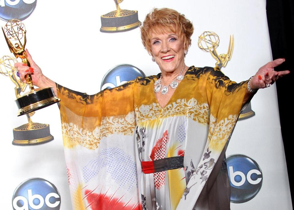 "Jeanne Cooper played Katherine Chancellor on CBS's ""The Young and the Restless"" for four decades."