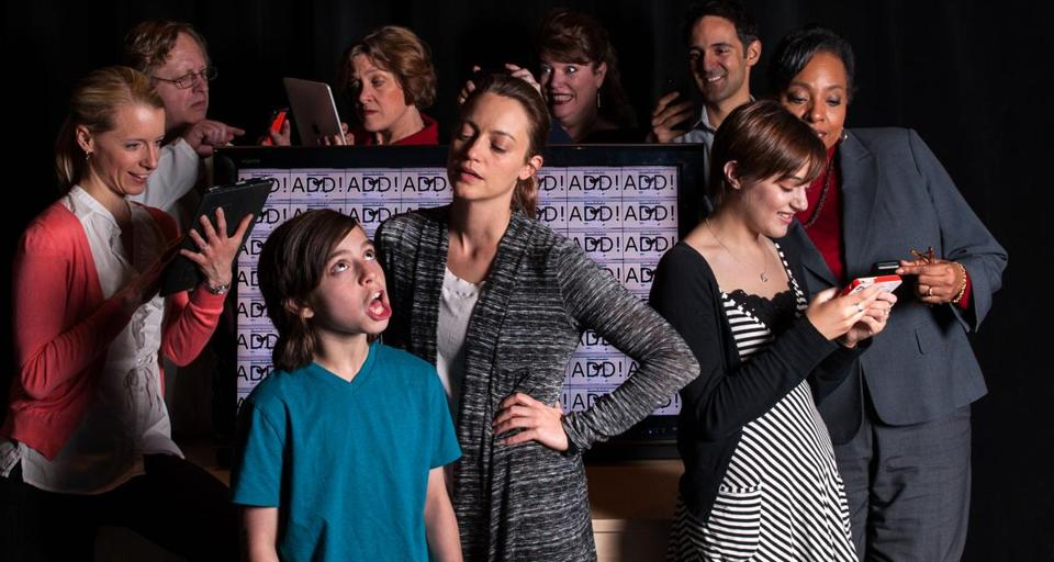 "Underground Railway Theater is staging Lisa Loomer's ""Distracted,'' the story of a boy with ADD and the effects on people close to him."