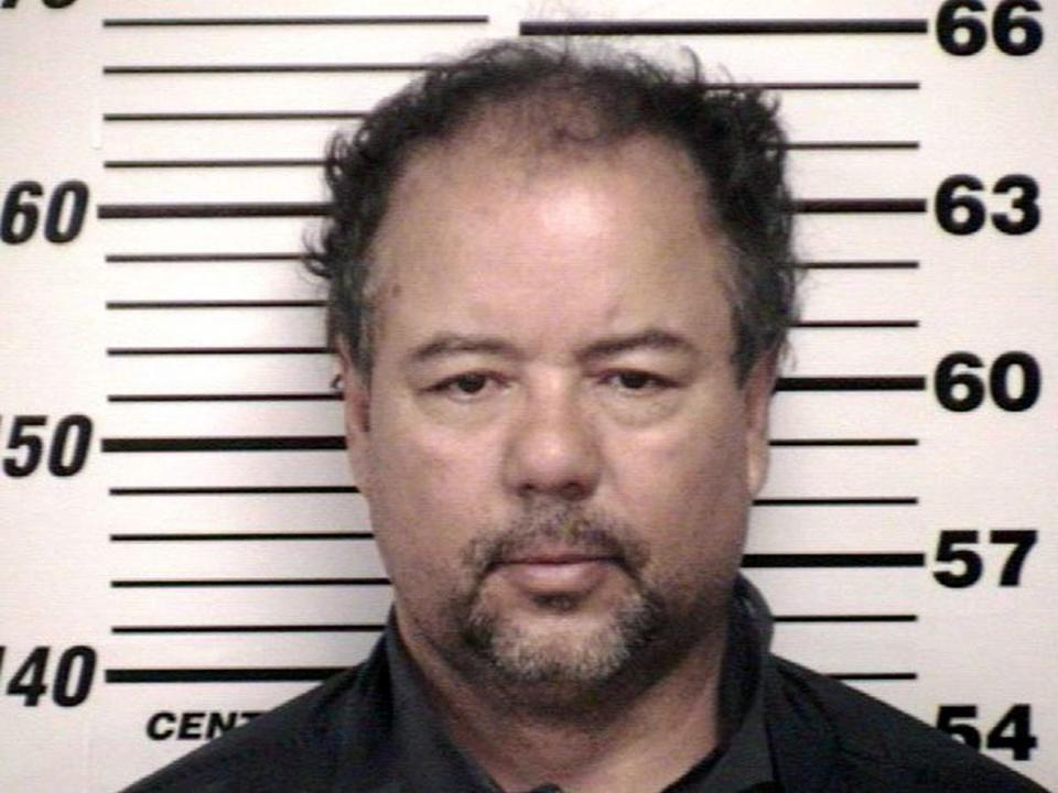 Booking photo of Ariel Castro, 52, after he was ordered to be held on $8 million bail on Thursday.