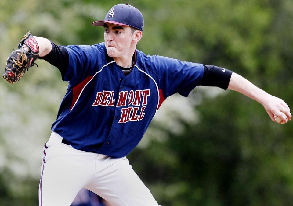 Belmont Hill's Keelan Smithers's complete game win over Rivers lifted his team into a four-way tie for first in the ISL.