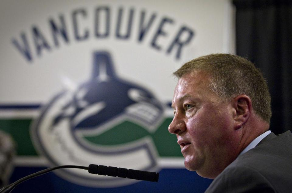Canucks general manager Mike Gillis