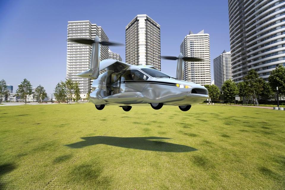 A look at Terrafugia's concept vehicle, the TF-X, which could usher flying cars into mainstream use.