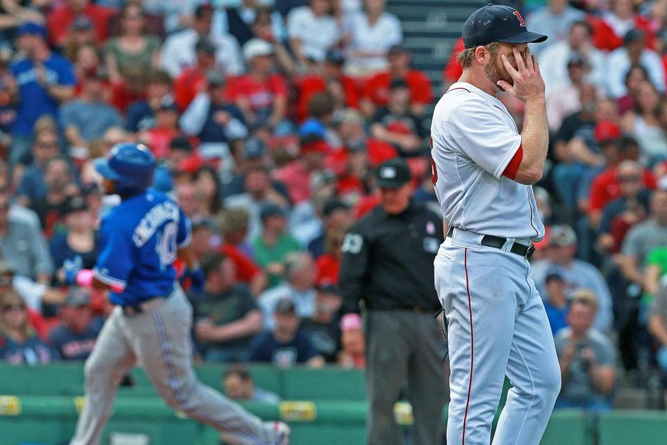 By the time Edwin Encarnacion homered in the fifth, Ryan Dempster didn't want to look.
