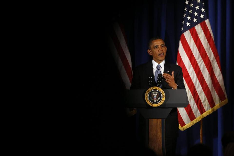 A frustrated President Obama said Monday that the Republican focus on the administration's response to last year's fatal attacks in Benghazi, Libya, is a ''sideshow.''