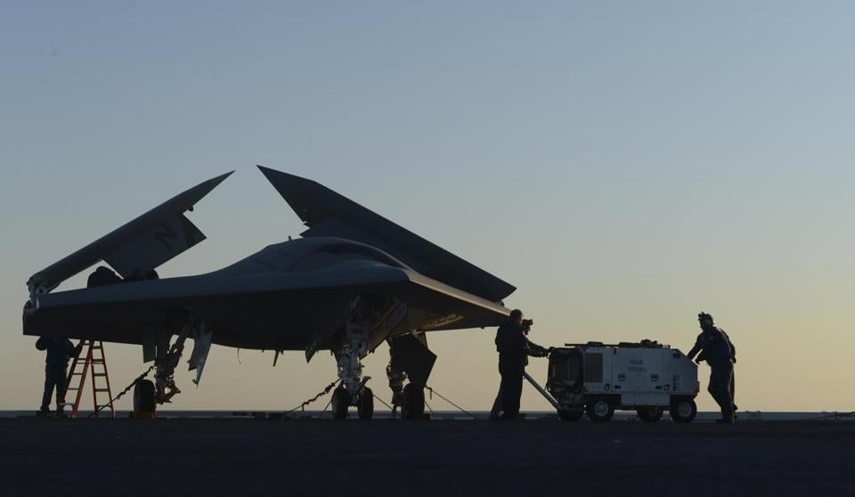 While the Navy's X-47B isn't intended for operational use, it will help officials develop future carrier-based drones that could begin operating by 2020,