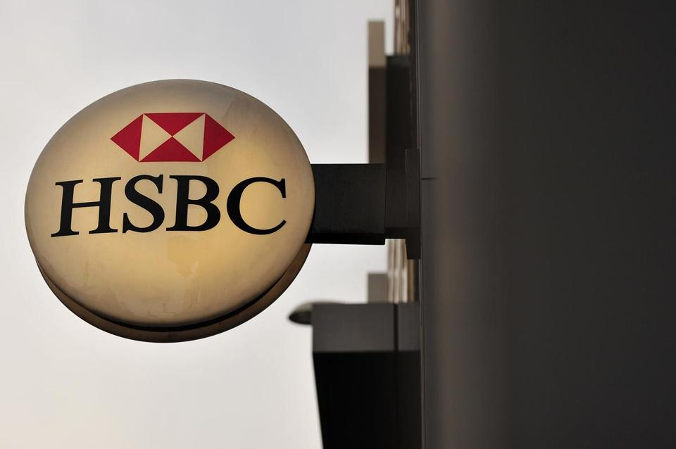 HSBC said it is considering buying back stock.