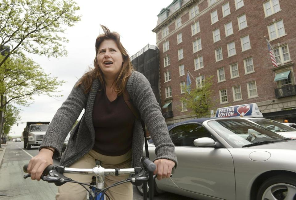 Ruth Rothstein of Boston agreed with enforcement of red light laws on cyclists.