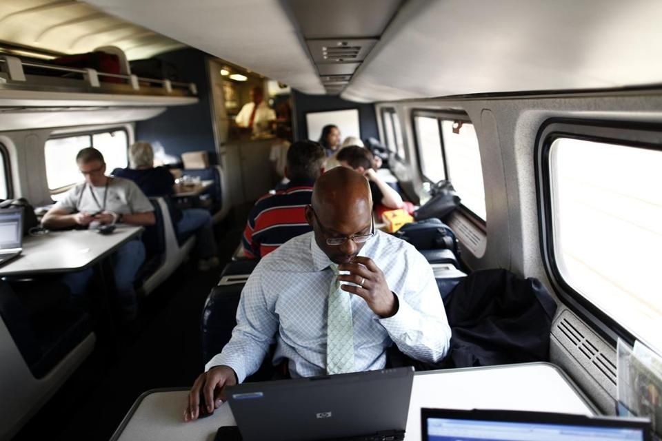 High-speed Internet access won't be available everywhere, but Amtrak says users will have a better Wi-Fi experience.