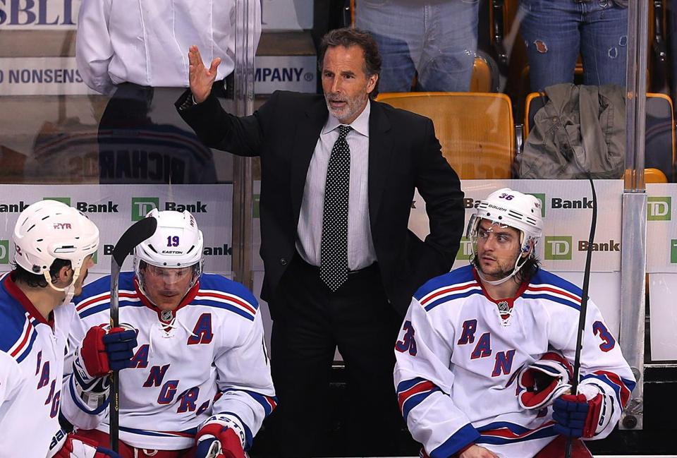 """We were dominated in overtime,'' John Tortorella said of his Rangers, who are 0-3 in OT this postseason."