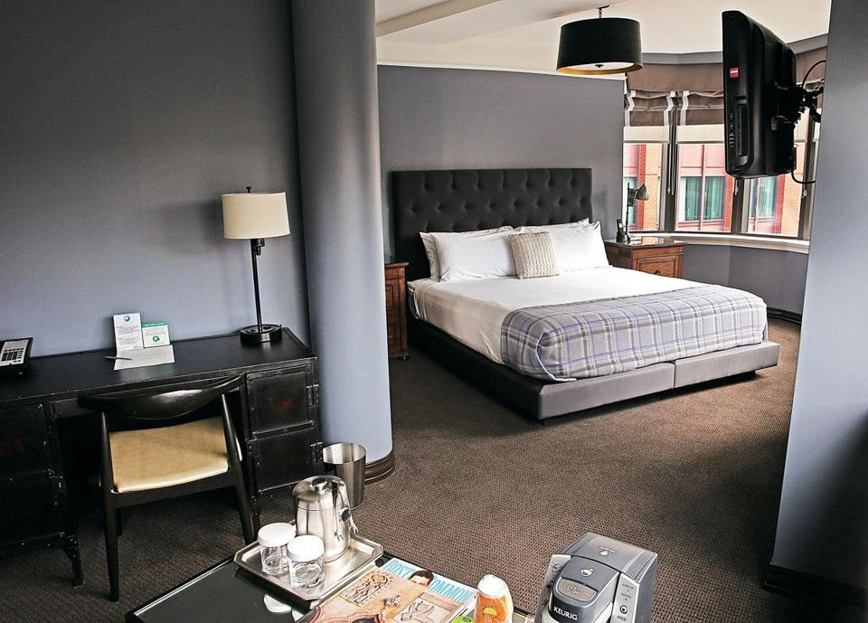 Upgrades at the Boxer Hotel include boutique-style rooms.