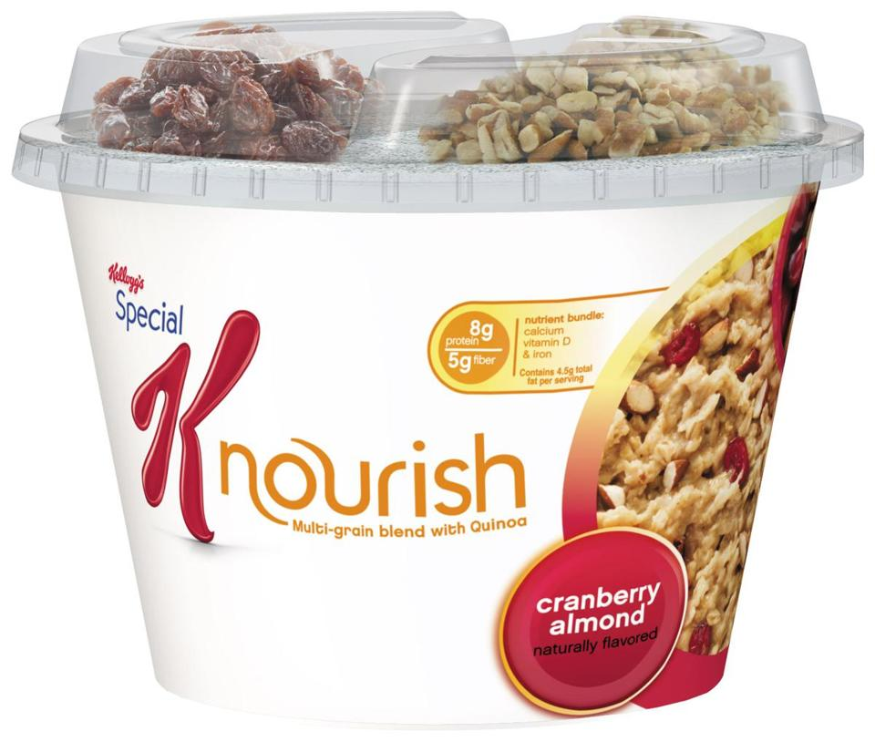 Launched in 1955, the Special K line has ballooned into a panoply of products, including Nourish hot cereal, set for July.