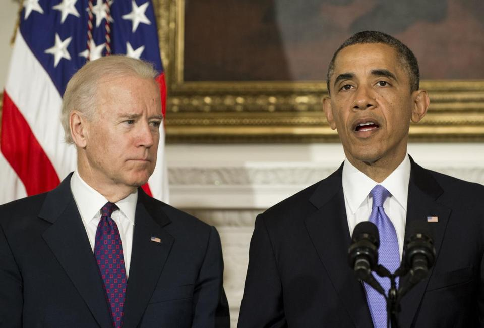 President Obama spoke alongside Vice President Joe Biden about the deadly tornadoes that hit Oklahoma.