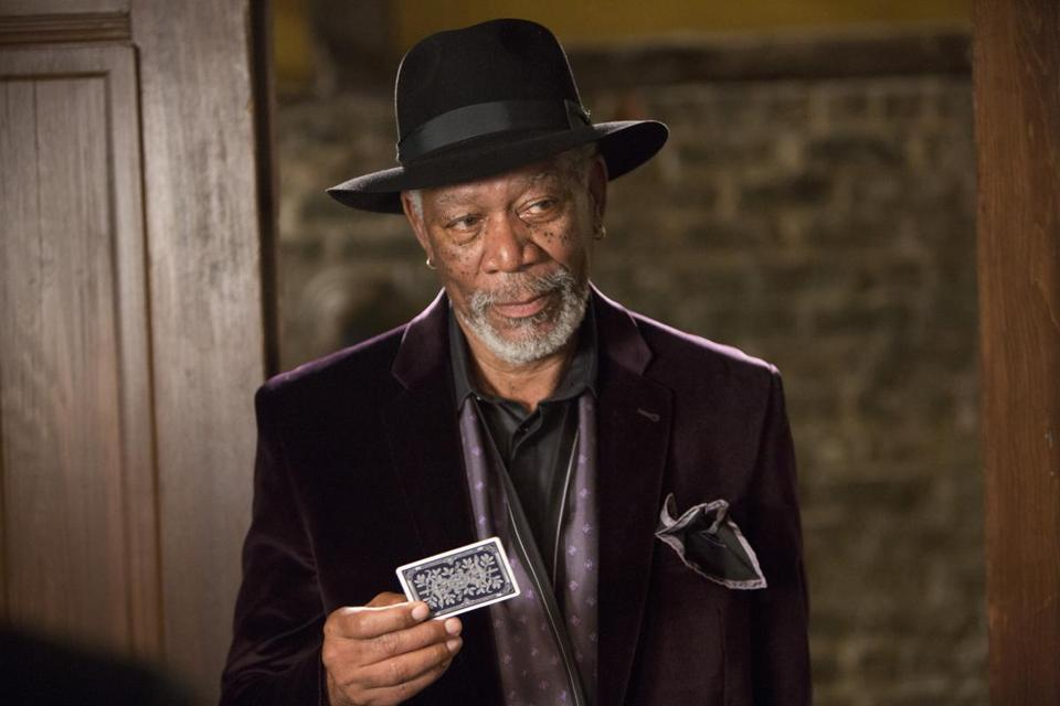 "Morgan Freeman stars in ""Now You See Me.''"