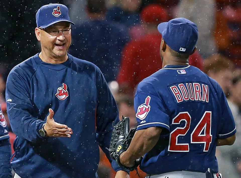 Terry Francona made his return to Fenway as the Indians manager.