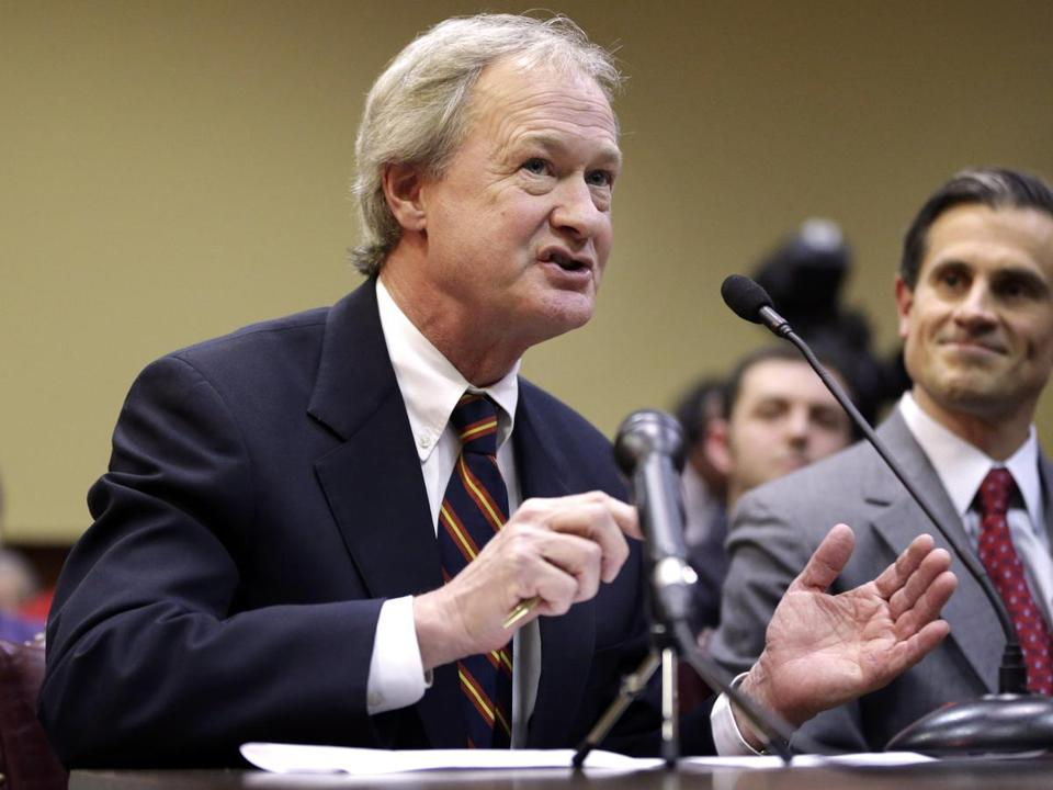 Rhode Island Governor Lincoln Chafee.