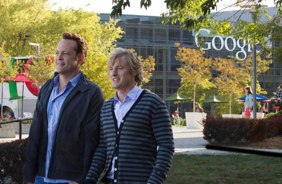 Vince Vaughn and Owen Wilson rehash their buddy act in the film.