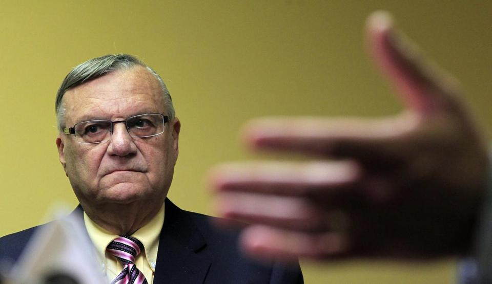 Joe Arpaio, 80, is in his sixth term as sheriff.
