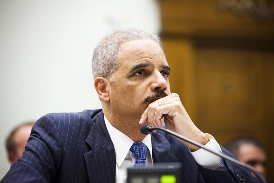 The White House has publicly backed Eric Holder, but some in the West Wing privately wish he would step down.