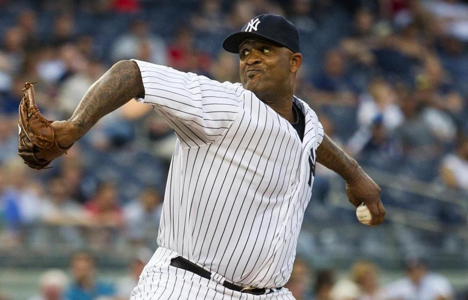CC Sabathia got back on track against the Red Sox, recording his first win since April 27.