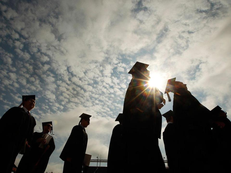 The report's author said out-of-state students are more likely to return home after graduating.