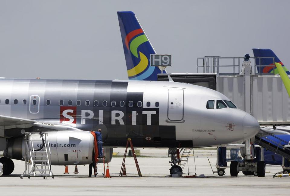 Spirit Airlines is known for its low fares and extra fees.