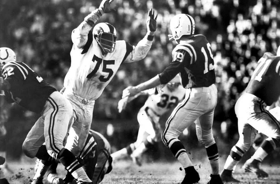 Deacon Jones was a feared member of one of the greatest defensive lines in NFL history, the Fearsome Foursome of the Los Angeles Rams in the 1960s