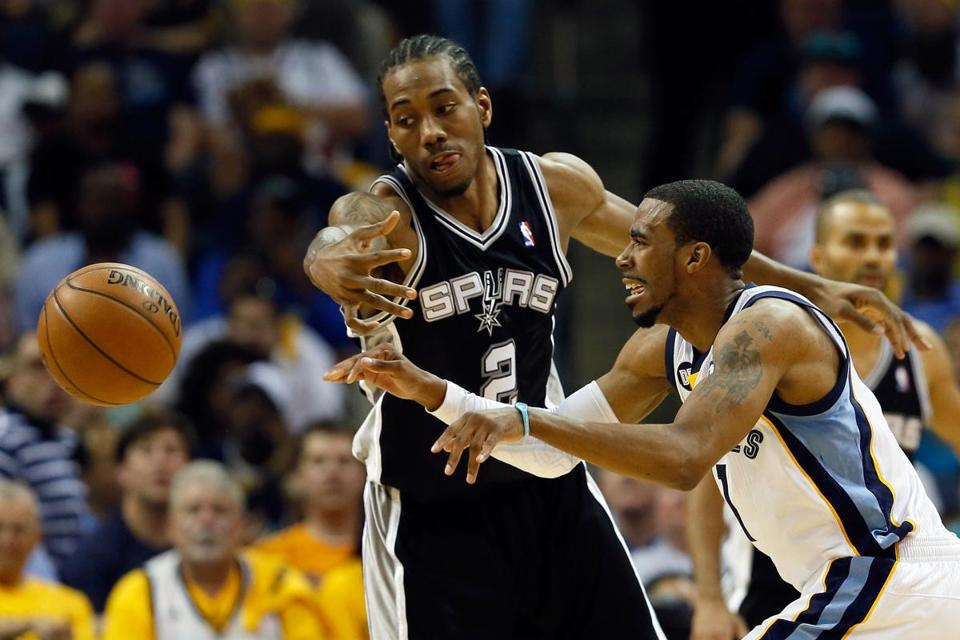 Kawhi Leonard helped the Spurs sweep by Mike Conley and the Grizzlies, but the biggest challenge begins Thursday.