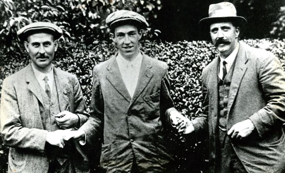 As an amateur, golfer Francis B. Ouimet scored a stunning victory at the US Open in Brookline.