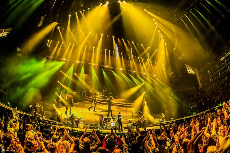 "Patrick Woodroofe has worked as the Rolling Stones' go-to lighting designer for 31 years, including for their current ""50 & Counting"" tour that stops in Boston this week."