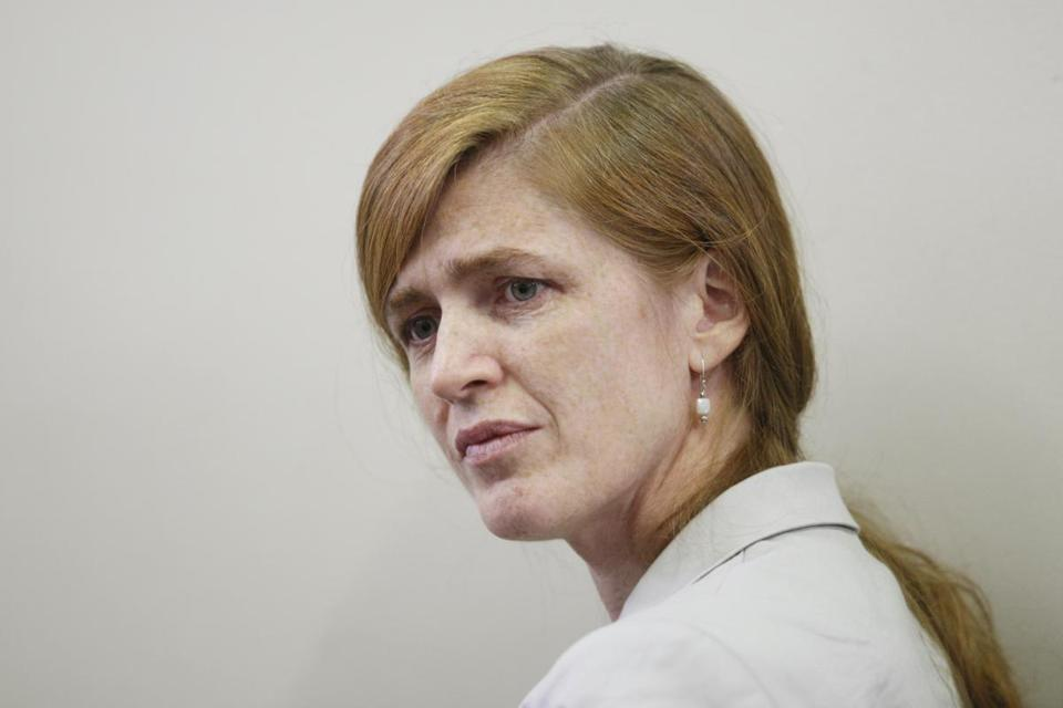Samantha Power is President Obama's nominee to be US ambassador to the United Nations.