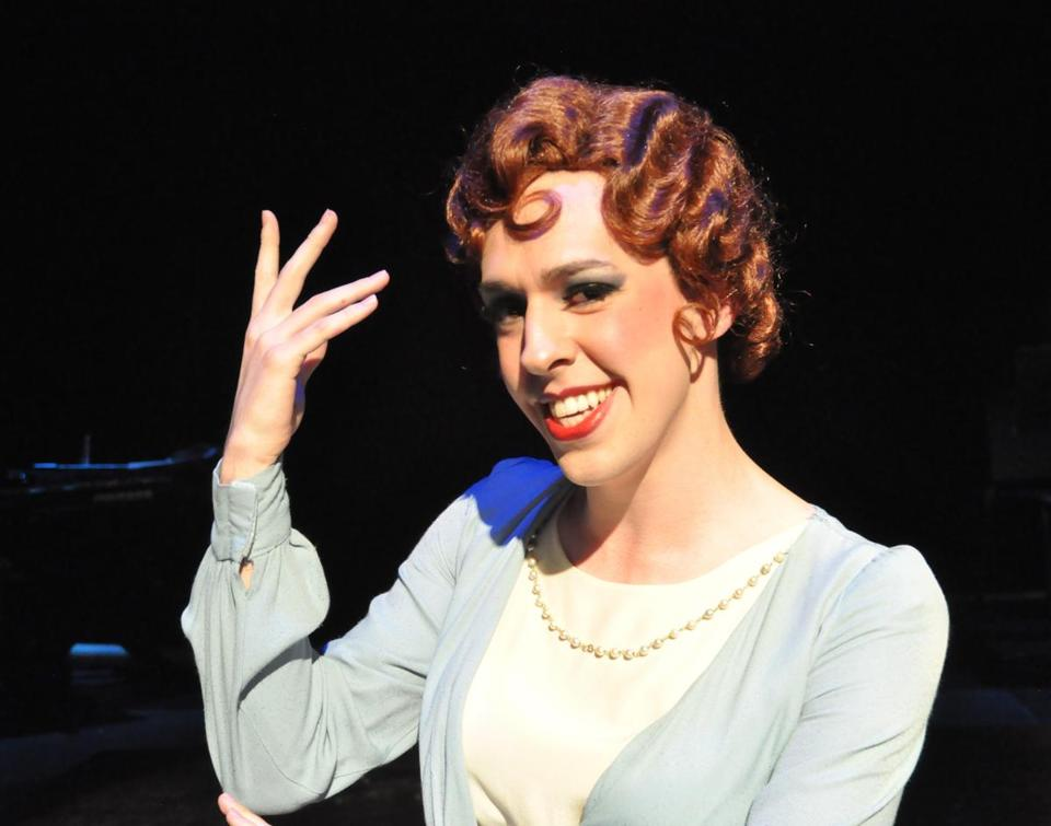 "Peter Mill plays Mary Sunshine in ""Chicago"" at the Reagle Music Theatre."