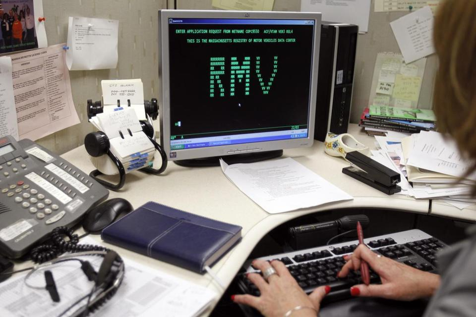 When the Massachusetts Registry of Motor Vehicle's current software system was designed, President Reagan occupied the Oval Office. Efforts are now underway to modernize the system.