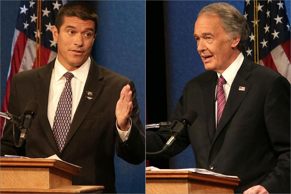 Gabriel Gomez, as in the first debate, was the more aggressive of the two, turning nearly every question into an attack on Representative Edward Markey and his nearly four decades in Washington.
