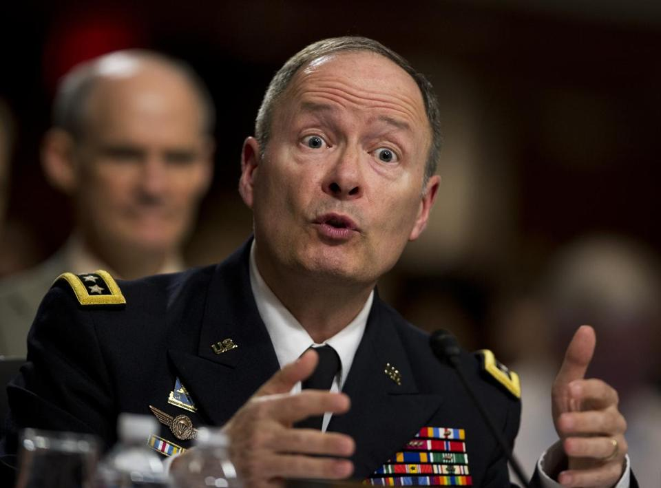 """I want the American people to know that we're trying to be transparent here,"" said General Keith Alexander, National Security Agency Director."