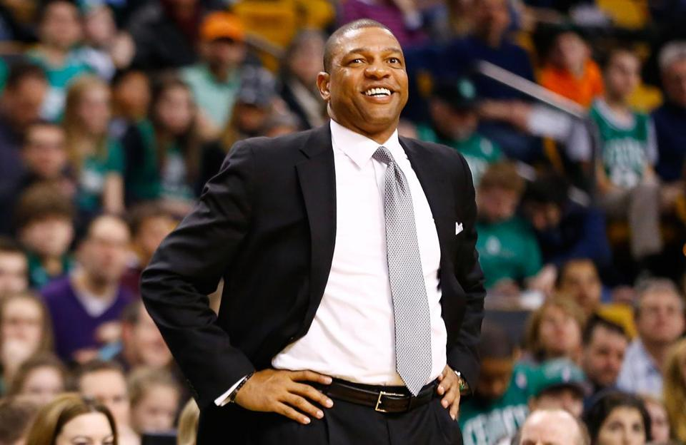 Doc Rivers spent nine seasons as coach of the Celtics.