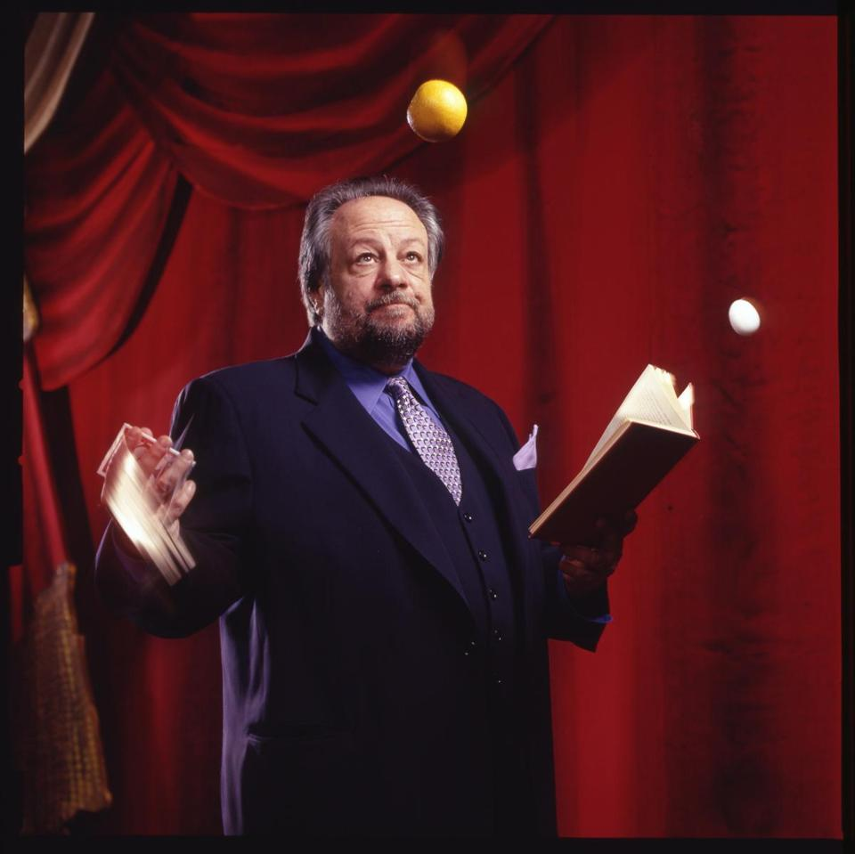 RIcky Jay is considered one of the world's greatest sleight of hand artists.