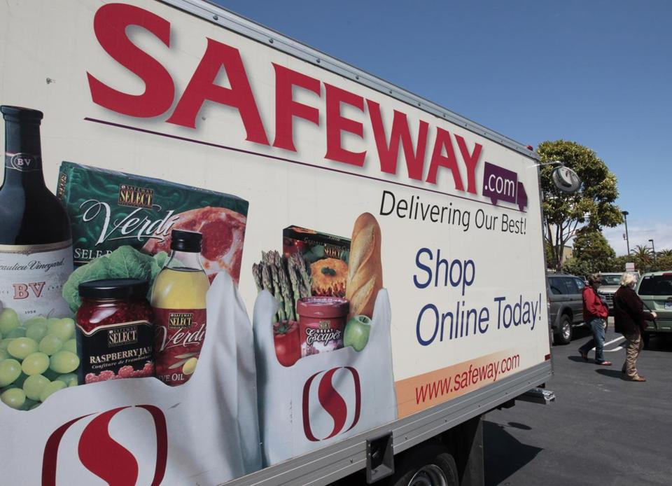 Safeways' US stores are in the West and in the Chicago and Mid-Atlantic areas.