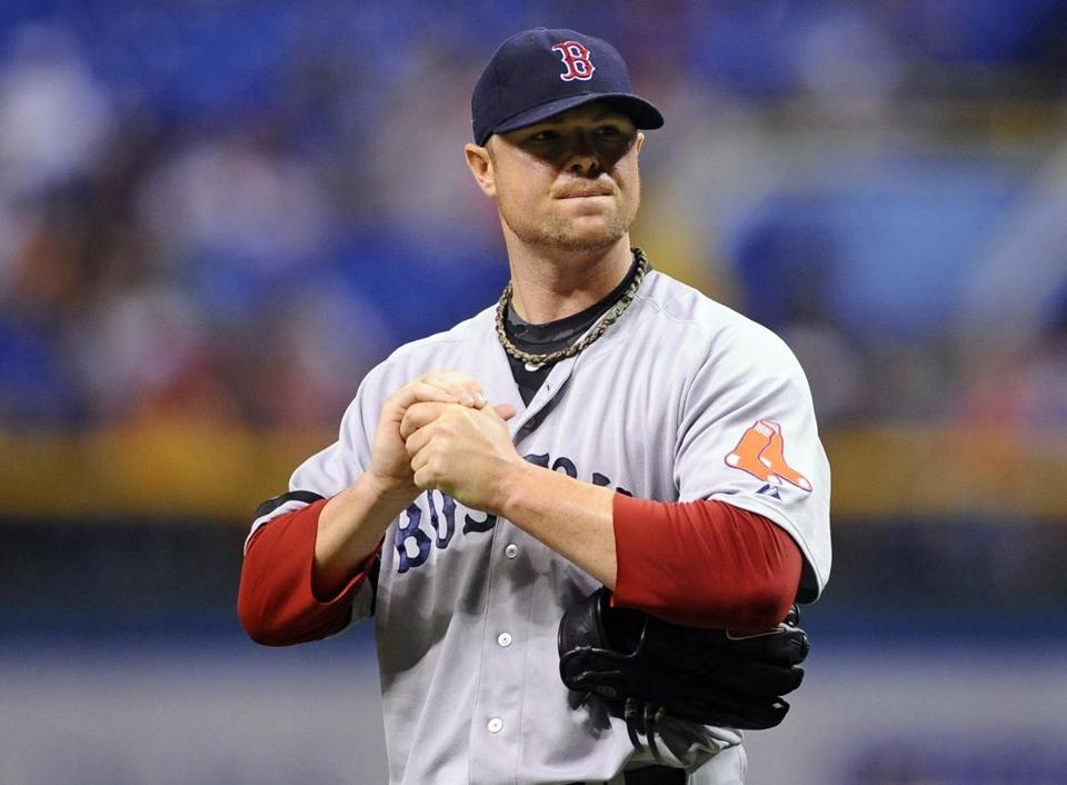 Over his last five starts, Jon Lester allowed six home runs and 18 walks. He's 0-3 with a 6.90 ERA during that time.