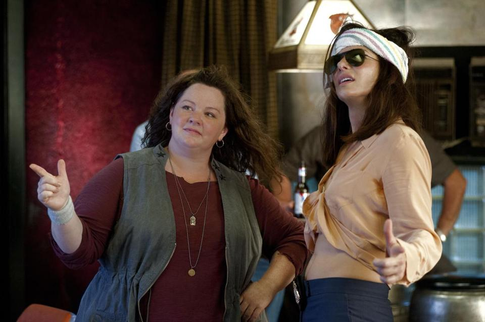 """The Heat"" pairs Melissa McCarthy (left),  as a Boston police detective, with Sandra Bullock, as an FBI agent."