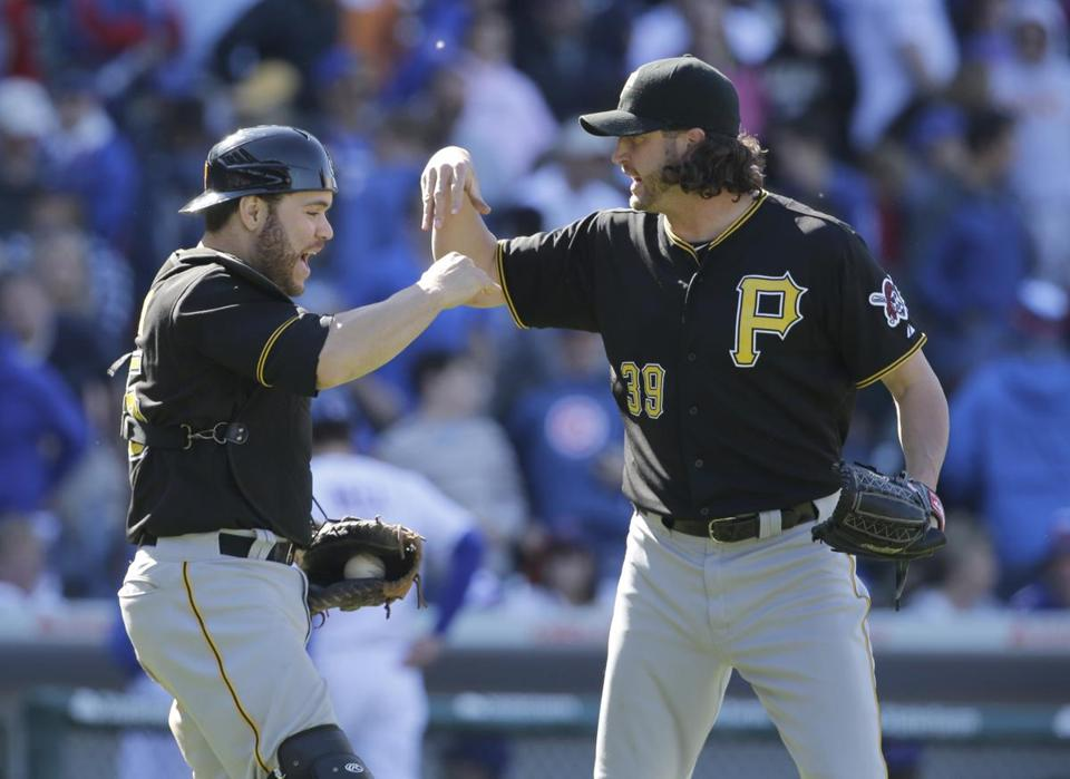 Closer Jason Grilli, right, has been lights out for the Pirates this season.