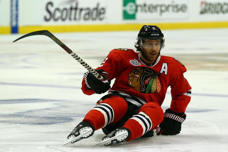 Duncan Keith may feel a bit worn out after logging 88:52 of ice time in Chicago's last two games.
