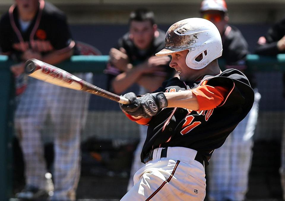 Kevin Huscher delivers in the clutch, unloading a two-out, two-run hit to give Middleboro the walkoff victory.